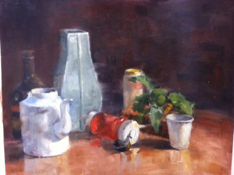 Oil Still LIfe 1 by vaporz123