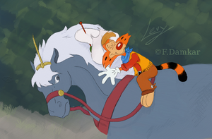 Who needs reins? [Collab] by levy120
