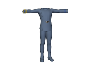 WIP ST:TMP Male Uniform by Flyingkiringraphics