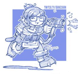 Overwatch Mei by Banzchan