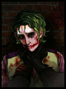 Joker is out of character by BTRumple