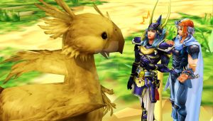 Chocobo?!? by HighwindKain