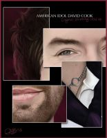 AI David Cook - Close Up by RSMRonda