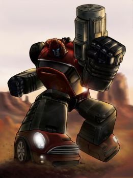 Cliffjumper by echo-romeo