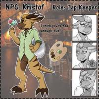 [Contest Entry] Kristof by KillerLillers