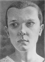 Eleven / Millie Bobby Brown by F33R-the-B33R