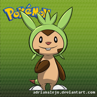 Chespin by adrianalejo
