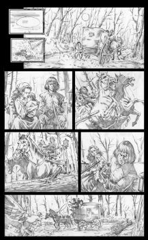 Royal Blood, Page01 Pencils by wici