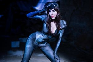 Catwoman- Searching for enemies ! by KyraKitsune