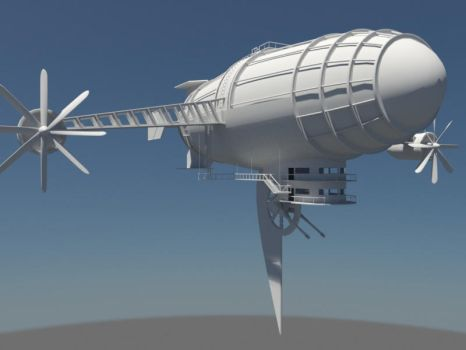 Zeppelin WIP by Dr38dn0ught