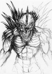 First Doomsday Cover Sketch by LoqTek