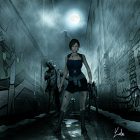 RESIDENT EVIL Jill Valentine by oOLaLoutreOo