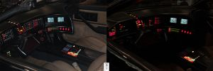 KITT's interior by The-Dude-L-Bug