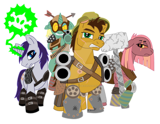 Raiders, Fallout: Equestria by ChromaCurves