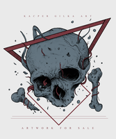 Drowning - Tshirt design for SALE by KGArtDesign