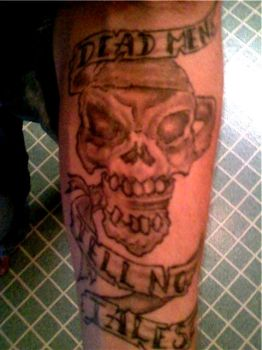 Forearm Pirate Tattoo by Captain-SG