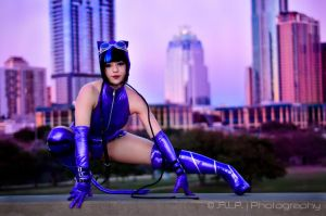 Catwoman Skyline by HollyGloha