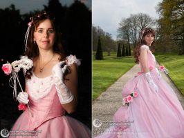 Masquerade Phantom of the Opera ballgown by Phantasma-Studio