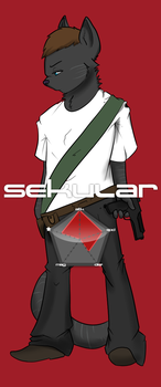 INSTINCT Fighter No.5: Sekular by tealfoxy