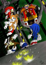 Crazy Eggman by SpaceMoule