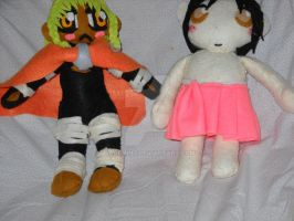 Type B and Type C plushies comparison by SageMint