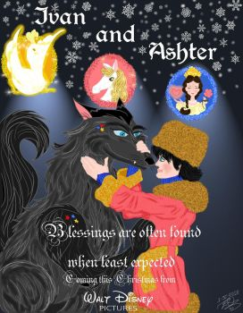 Ivan and Ashter movie poster by E-Ocasio