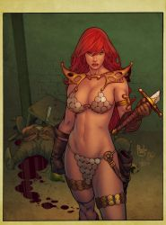 Red Sonja by PauloSiqueira by artmunki