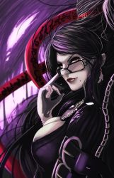 Bayonetta portrait by JessxJess