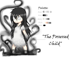 Creepypasta OC: The Possessed Child by Heartwork-Circus