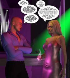 Amber at the club - Pg. 1 by AmberSmyth