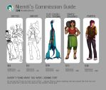 A Guide to Commissions by niemtold