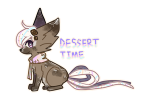 Ribbonfox OTA- Dessert Time (PENDING) by Kuro-The-Art-Kitsune