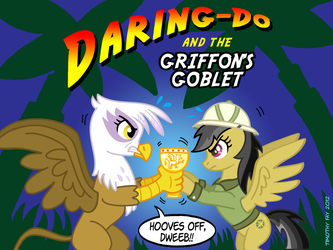 DARING-DO and the GRIFFON'S GOBLET by Tim-Kangaroo