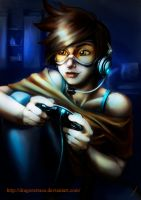 Gamer Tracer by DragonsTrace