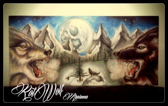 The Winter Of Wolves by rotwolf93