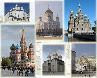 Russian Church Background by Sarah-Tang
