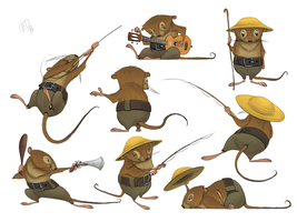 Rat - The Wind In The Willows by nik159