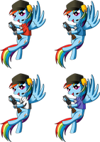 Rainbow Dash Scout by Spyro0w0