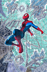 Spidey Commission by Pixelated-Takkun