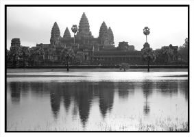 Angkor Reflections by rosiescape