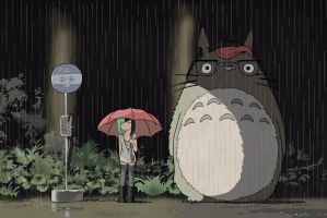 My Girlfriend Totoro by candyheartsyndrome