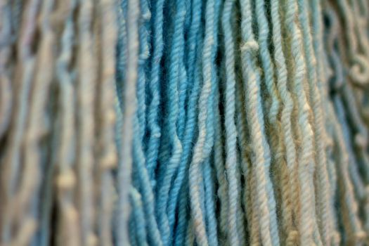 Yarn with cold colors by messo85