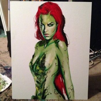 Poison Ivy Portrait by ZanEXE