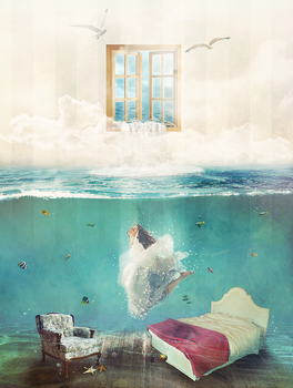 I'm An Ocean In Your Bedroom by shadeley