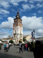Town Hall Tower by Caolinite