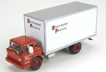 Southern Pacific (SP) Ford C Box Van by ROGUE-RATTLESNAKE
