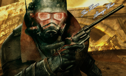 [Lonesome Road] Courier - Fallout: New Vegas by UnkawaiiGFX