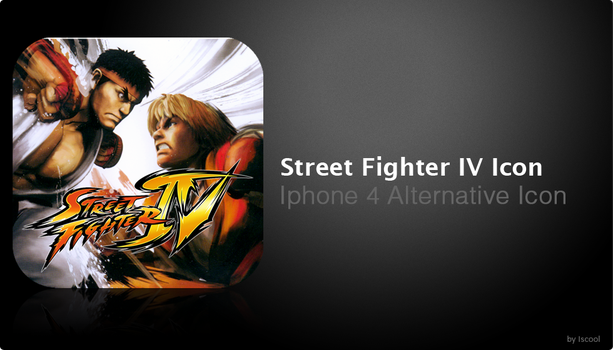 Street Fighter IV Retina Icon by iscool69
