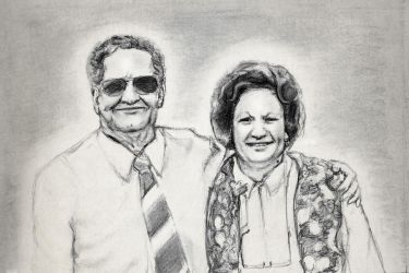 Nan and Grandad by i-want-the-red-one