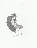 Marcy and Baby Marcibel by RSforsevers